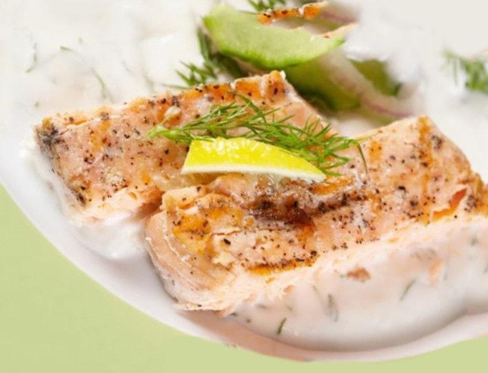 comidas saludables con Pescado asado o parilla