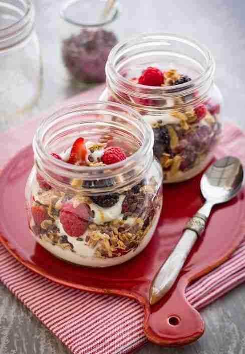 Desayunos saludables y fáciles