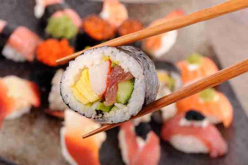 Cuántas calorías tiene el sushi