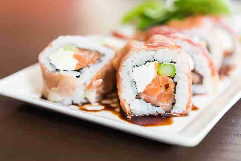 El sushi que menos engorda